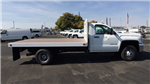 2017 Sierra 3500 Regular Cab DRW, Royal Flatbed Bodies Platform Body #HF244314 - photo 4