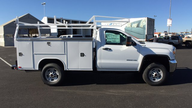 2017 Sierra 2500 Regular Cab 4x4, Harbor TradeMaster Service Body #HZ258036 - photo 4