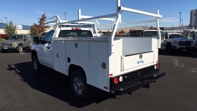 2017 Sierra 2500 Regular Cab 4x4, Harbor TradeMaster Service Body #HZ258036 - photo 2