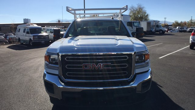 2017 Sierra 2500 Regular Cab 4x4, Harbor TradeMaster Service Body #HZ258036 - photo 8