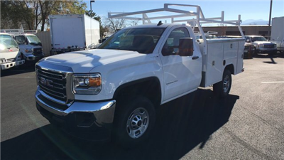 2017 Sierra 2500 Regular Cab 4x4, Harbor TradeMaster Service Body #HZ258036 - photo 1