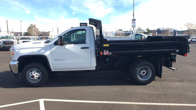 2018 Sierra 3500 Regular Cab DRW 4x4,  Monroe Dump Body #JF119150 - photo 7