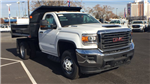 2018 Sierra 3500 Regular Cab DRW 4x4,  Monroe MTE-Zee Dump Dump Body #JF119150 - photo 3