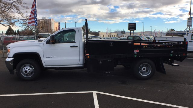 2018 Sierra 3500 Regular Cab DRW 4x4, Freedom Contractor Body #JF120160 - photo 7