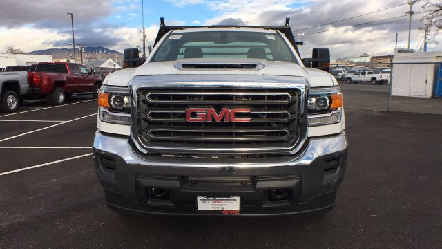 2018 Sierra 3500 Regular Cab DRW 4x4,  Freedom Contractor Body #JF120160 - photo 8