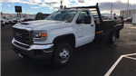 2018 Sierra 3500 Regular Cab DRW 4x4,  Freedom Contractor Body #JF120160 - photo 1