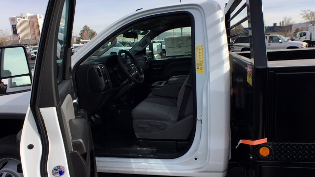 2018 Sierra 3500 Regular Cab DRW 4x4, Freedom ProContractor Contractor Body #JF124648 - photo 24
