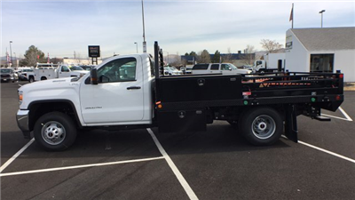 2018 Sierra 3500 Regular Cab DRW 4x4, Freedom ProContractor Contractor Body #JF124648 - photo 7