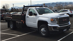 2018 Sierra 3500 Regular Cab DRW 4x4, Freedom ProContractor Contractor Body #JF124648 - photo 3