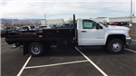 2018 Sierra 3500 Regular Cab DRW 4x4, Freedom ProContractor Contractor Body #JF124648 - photo 4