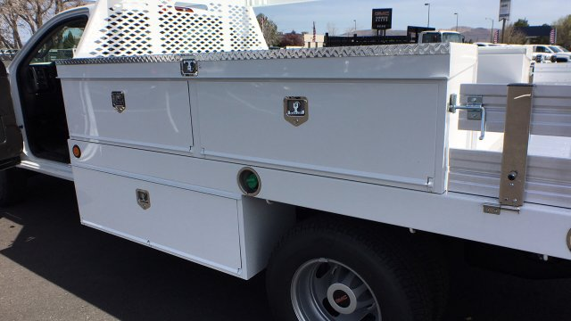 2018 Sierra 3500 Regular Cab DRW 4x4, Contractor Body #JF140427 - photo 14