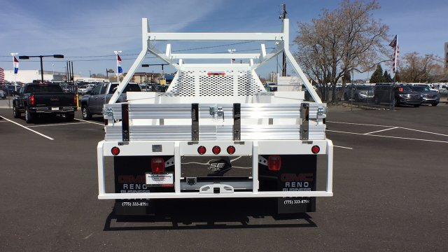 2018 Sierra 3500 Regular Cab DRW 4x4, Contractor Body #JF140427 - photo 6