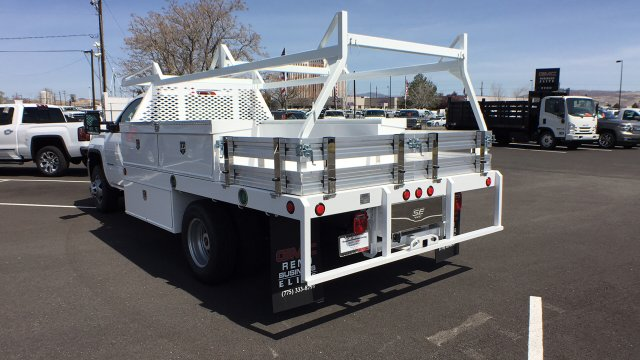2018 Sierra 3500 Regular Cab DRW 4x4,  Scelzi Contractor Body #JF140427 - photo 2