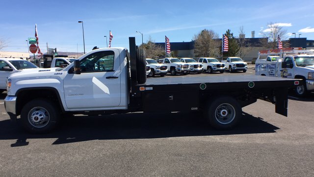 2018 Sierra 3500 Regular Cab DRW 4x4,  Knapheide Platform Body #JF142753 - photo 7
