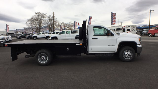 2018 Sierra 3500 Regular Cab DRW 4x4,  Knapheide Platform Body #JF144160 - photo 5