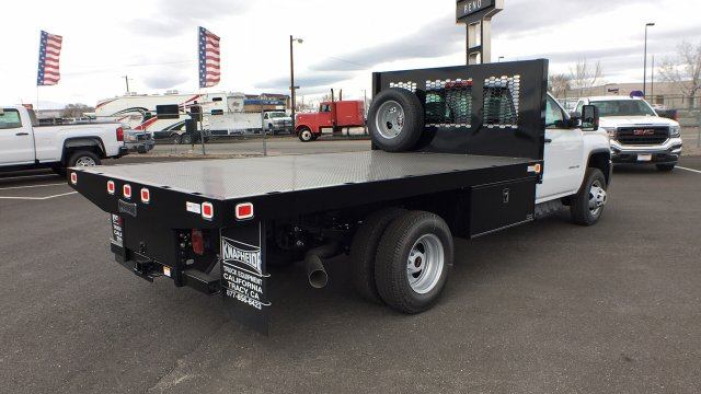 2018 Sierra 3500 Regular Cab DRW 4x4,  Knapheide Value-Master X Platform Body #JF144160 - photo 4