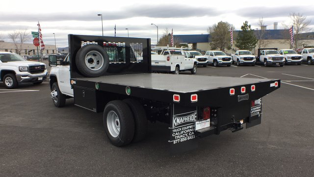 2018 Sierra 3500 Regular Cab DRW 4x4,  Knapheide Platform Body #JF144160 - photo 2