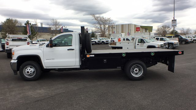 2018 Sierra 3500 Regular Cab DRW 4x4,  Knapheide Platform Body #JF144160 - photo 7