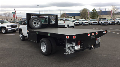 2018 Sierra 3500 Regular Cab DRW 4x4,  Knapheide Value-Master X Platform Body #JF144160 - photo 2