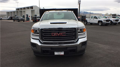 2018 Sierra 3500 Regular Cab DRW 4x4,  Knapheide Value-Master X Platform Body #JF144160 - photo 8