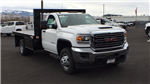 2018 Sierra 3500 Regular Cab DRW 4x4,  Knapheide Value-Master X Platform Body #JF144160 - photo 3