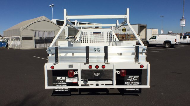 2018 Sierra 3500 Regular Cab DRW 4x4, Contractor Body #JF144452 - photo 6