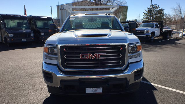 2018 Sierra 3500 Regular Cab DRW 4x4, Contractor Body #JF144452 - photo 8