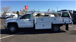 2018 Sierra 3500 Regular Cab DRW 4x4,  Scelzi CTFB Contractor Body #JF144452 - photo 7