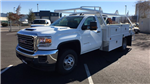 2018 Sierra 3500 Regular Cab DRW 4x4, Contractor Body #JF144452 - photo 1