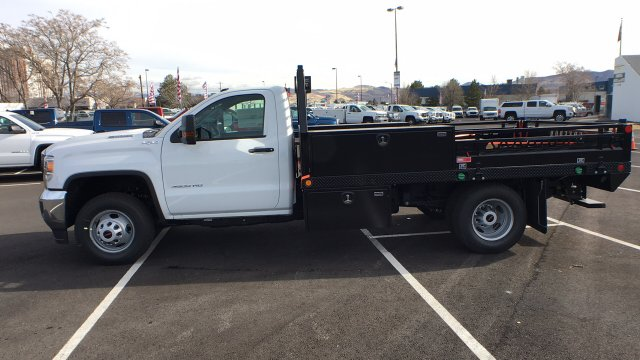 2018 Sierra 3500 Regular Cab DRW 4x4,  Freedom Contractor Body #JF152679 - photo 7