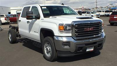 2018 Sierra 2500 Crew Cab 4x4,  Cab Chassis #JF213269 - photo 3