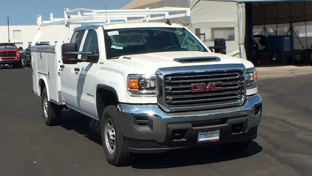 2018 Sierra 2500 Crew Cab 4x4,  Royal Service Body #JF227652 - photo 3