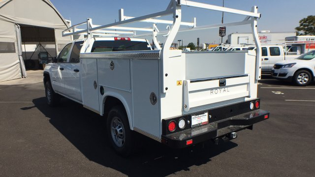 2018 Sierra 2500 Crew Cab 4x4,  Royal Service Body #JF227652 - photo 2