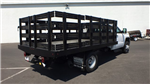 2018 Sierra 3500 Regular Cab DRW 4x4,  Monroe Work-A-Hauler II Stake Bed #JF267621 - photo 5
