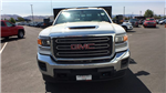 2018 Sierra 3500 Regular Cab DRW 4x4,  Monroe Work-A-Hauler II Stake Bed #JF267621 - photo 8