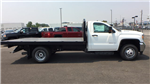 2018 Sierra 3500 Regular Cab DRW 4x4,  Monroe Work-A-Hauler II Platform Body #JF268926 - photo 3