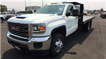 2018 Sierra 3500 Regular Cab DRW 4x4,  Monroe Work-A-Hauler II Platform Body #JF268926 - photo 6