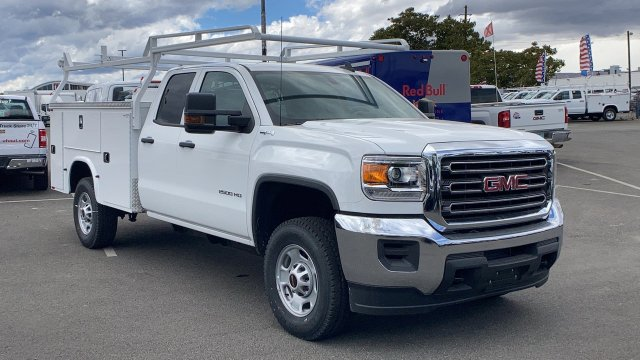 2019 GMC Sierra 2500 Double Cab 4x4, Cab Chassis #K1215376 - photo 1