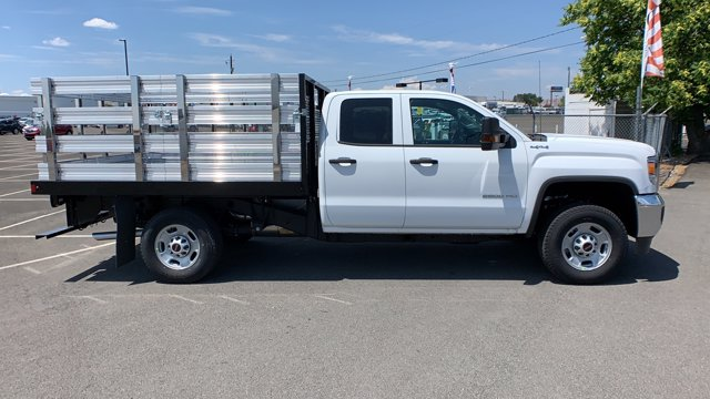 2019 GMC Sierra 2500 Double Cab 4x4, Harbor Stake Bed #K1232275 - photo 4