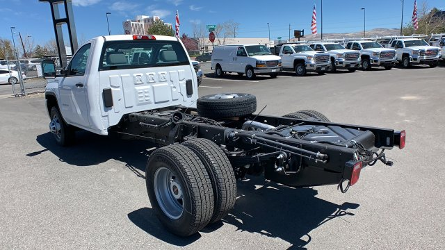 2019 Sierra 3500 Regular Cab DRW 4x2,  Cab Chassis #KF219385 - photo 1