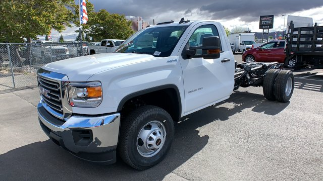 2019 Sierra 3500 Regular Cab DRW 4x4,  Cab Chassis #KF261945 - photo 1