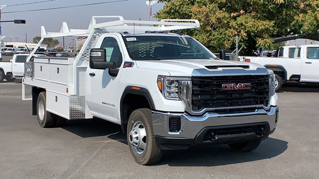 2020 GMC Sierra 3500 Regular Cab 4x4, Scelzi Contractor Body #LF281867 - photo 1