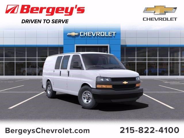 2021 Chevrolet Express 3500 4x2, Empty Cargo Van #1292R - photo 1