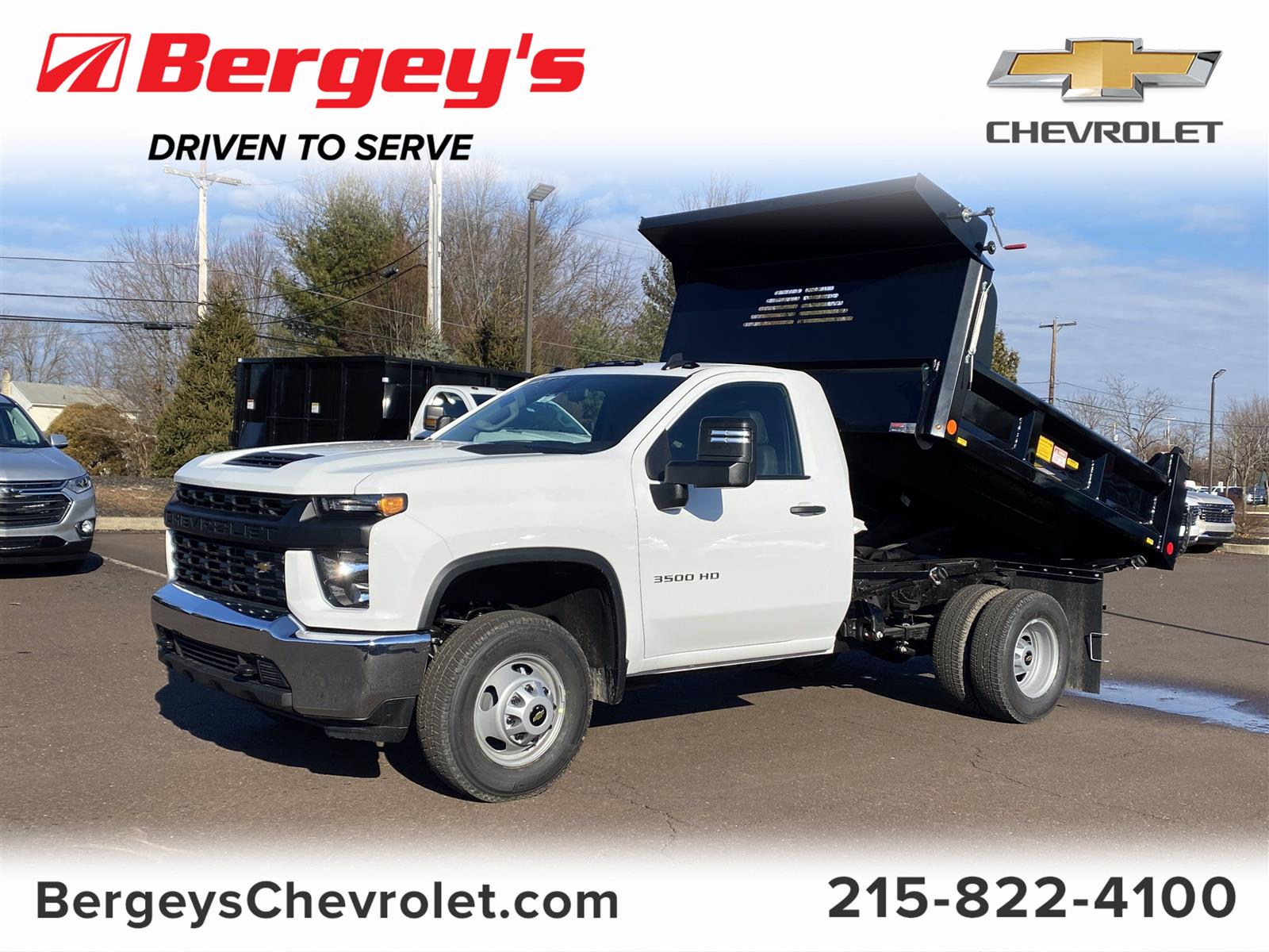 2021 Chevrolet Silverado 3500 Regular Cab 4x4, Crysteel Dump Body #1315R - photo 1