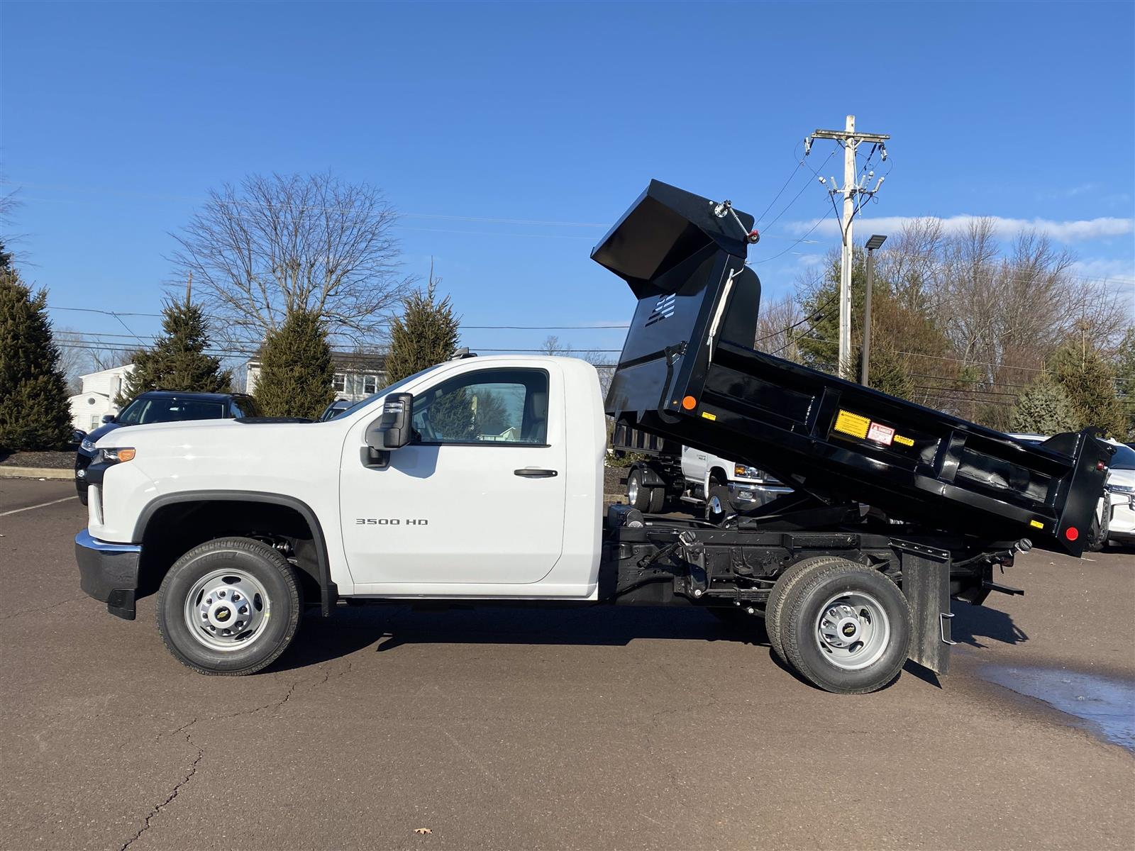 2021 Chevrolet Silverado 3500 Regular Cab 4x4, Crysteel E-Tipper Dump Body #1315R - photo 4