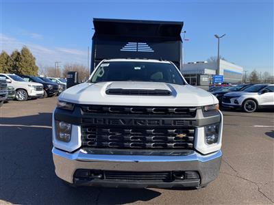 2021 Chevrolet Silverado 3500 Regular Cab 4x4, Crysteel E-Tipper Dump Body #1315R - photo 3
