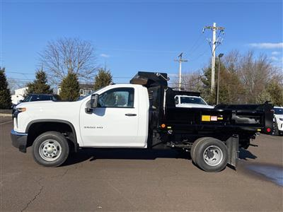 2021 Chevrolet Silverado 3500 Regular Cab 4x4, Crysteel E-Tipper Dump Body #1315R - photo 2