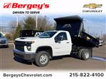 2021 Chevrolet Silverado 3500 Regular Cab 4x4, Crysteel E-Tipper Dump Body #1315R - photo 1