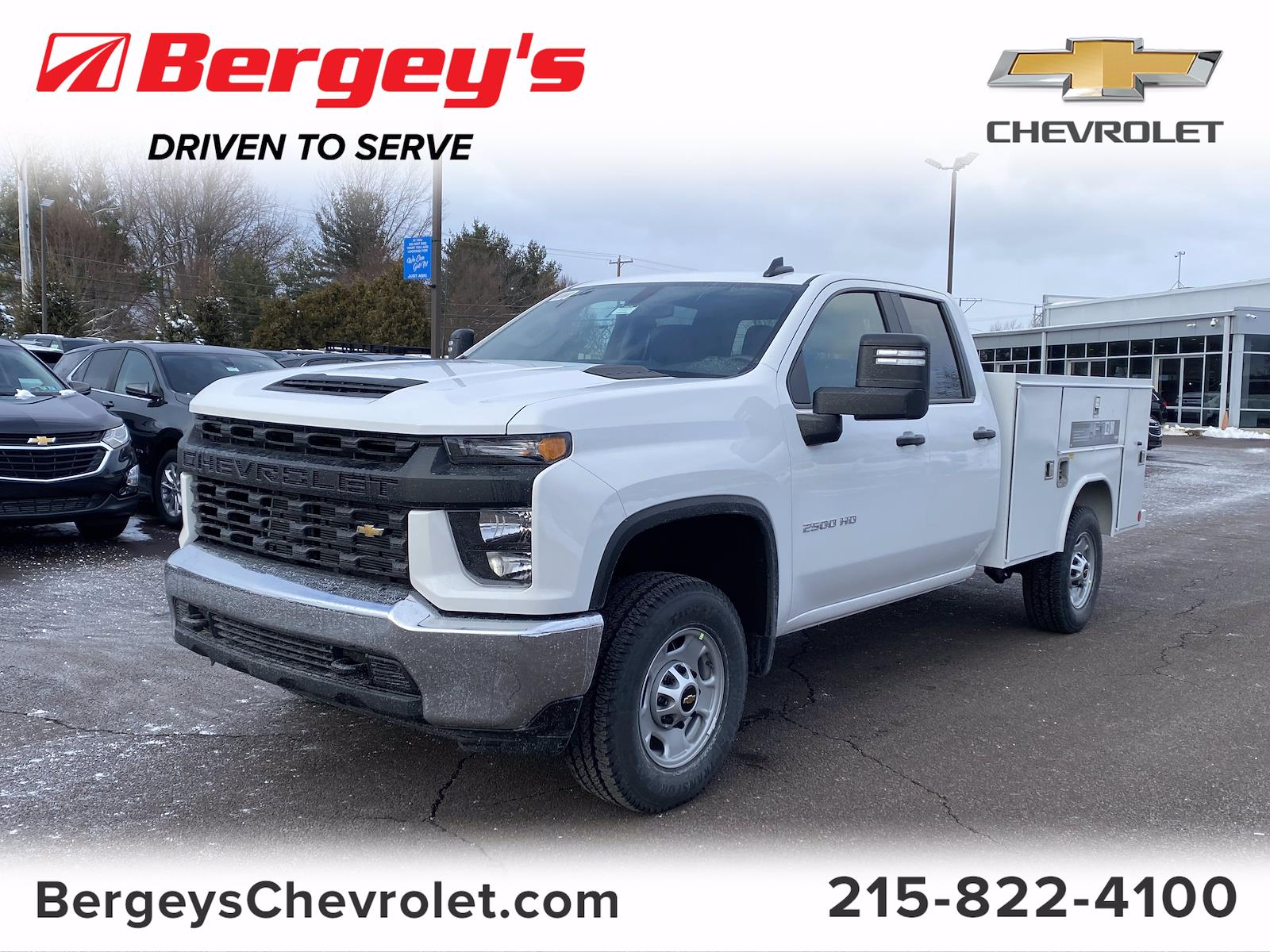 2021 Chevrolet Silverado 2500 Double Cab 4x4, Reading Service Body #1347R - photo 1