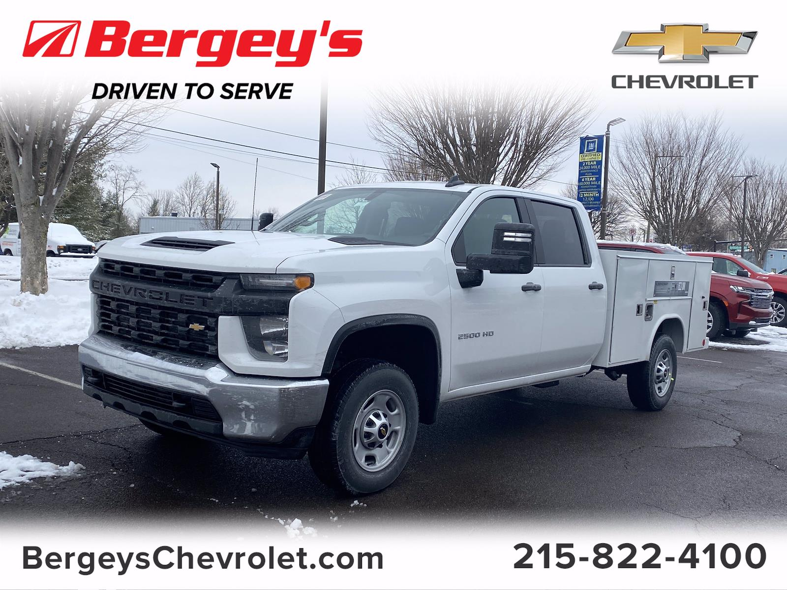2021 Chevrolet Silverado 2500 Crew Cab 4x2, Reading Service Body #1401R - photo 1